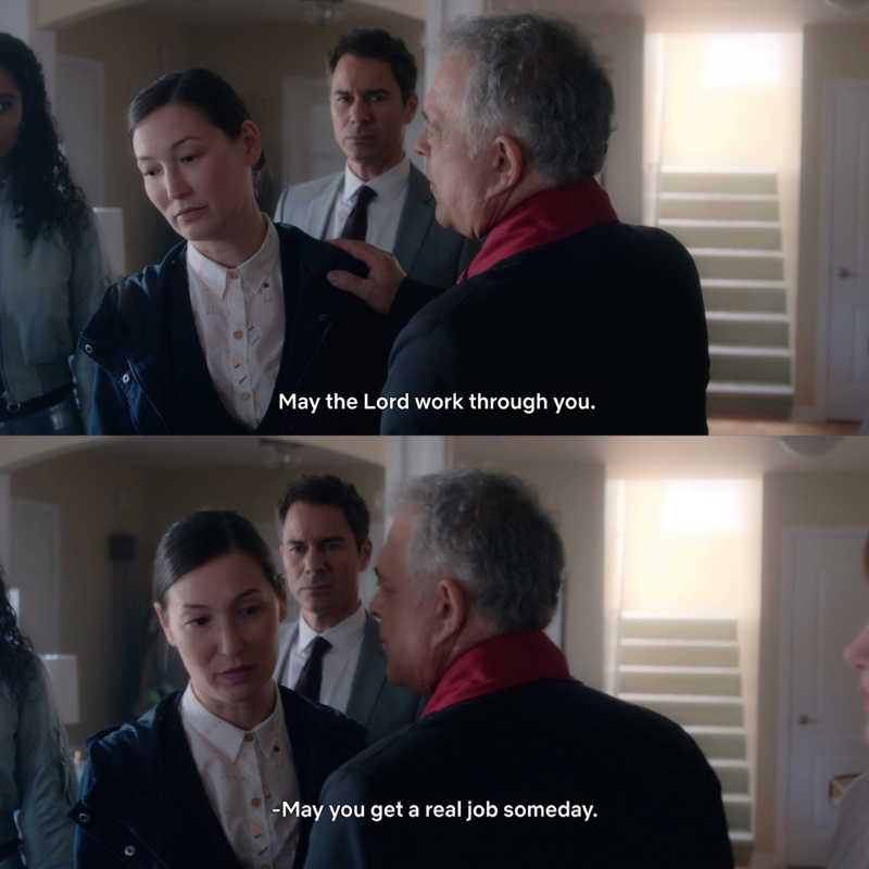 Grace is one of my favorite characters! Socially weird, sometimes even rude, but so funny and smart! 😄