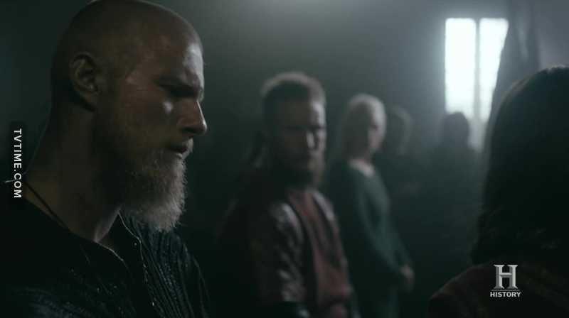 When Ragnar got rid of his ponytail, the memorable raids and conquers took place... Just saying