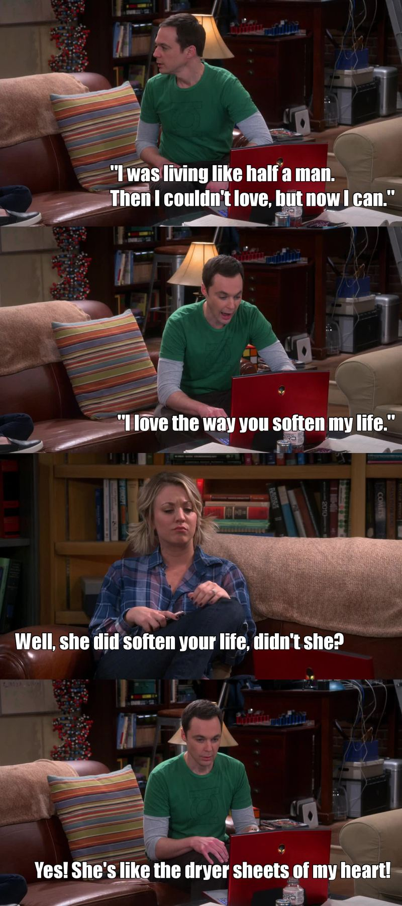 Sheldon's sweetness ❤