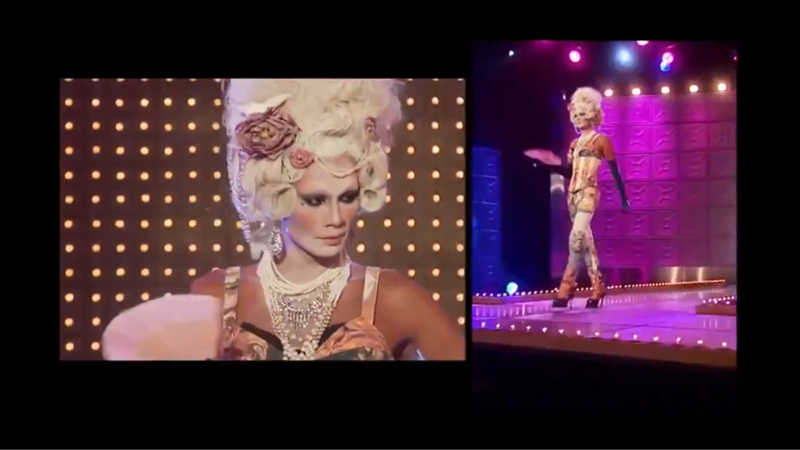 I don't understand how Raja is always safe when she should be the WINNER FOR EVERY WEEK she's something else 🖤🖤