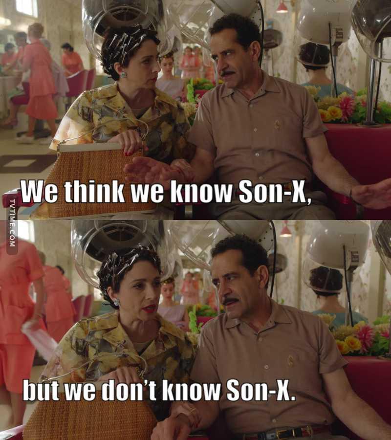 """""""Son-X"""" 😂😂😂"""