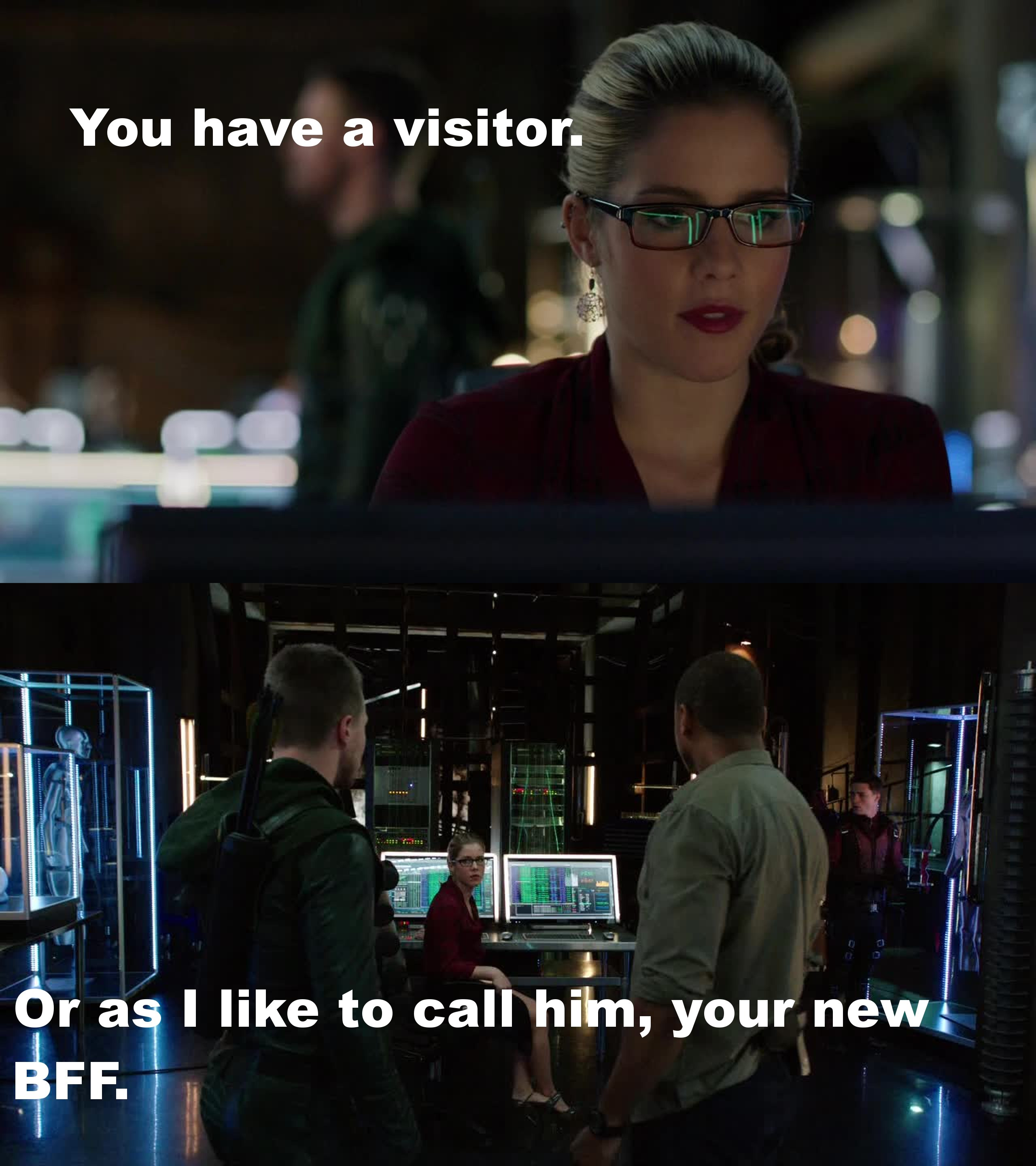 Felicity is so awesome!