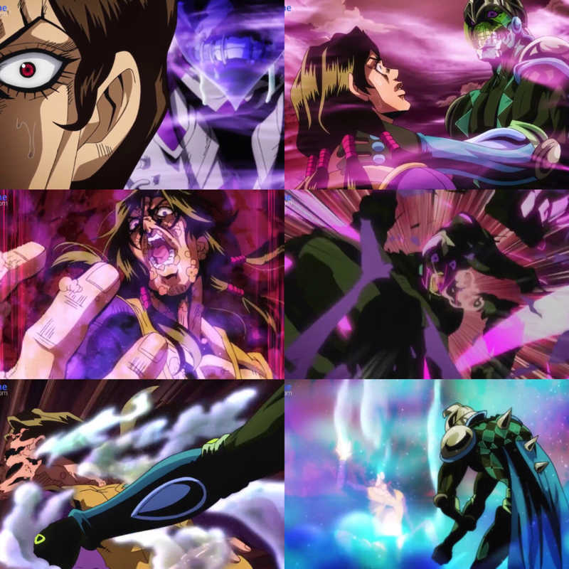 Shit Purple Haze is a scary stand 😍🔥🔥