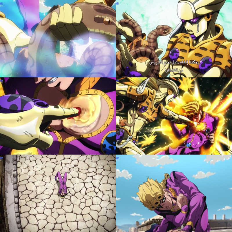 Wow Giorno & his stand Gold Experience keeps impressing me every time 😍