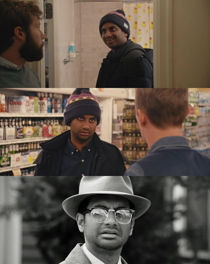 I can't but smiling every time I see Aziz's face! Also his voice cracks me up! This pilot was pretty good, funny and fresh: let's see!