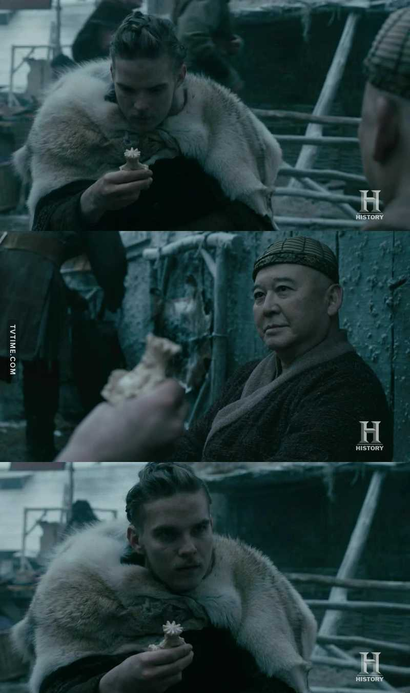 i think that maybe hvitserk will have a feature into the Buddha countries just like Ragnar and Bjorn, they both discovered something new... i hope that he'll have the appreciating he deserves.