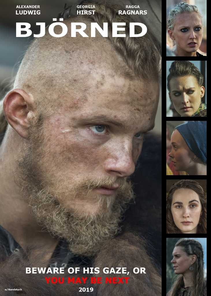Saw this on Reddit 🤣 Announcing a brand newspin-off of Vikings : BJÖRNED