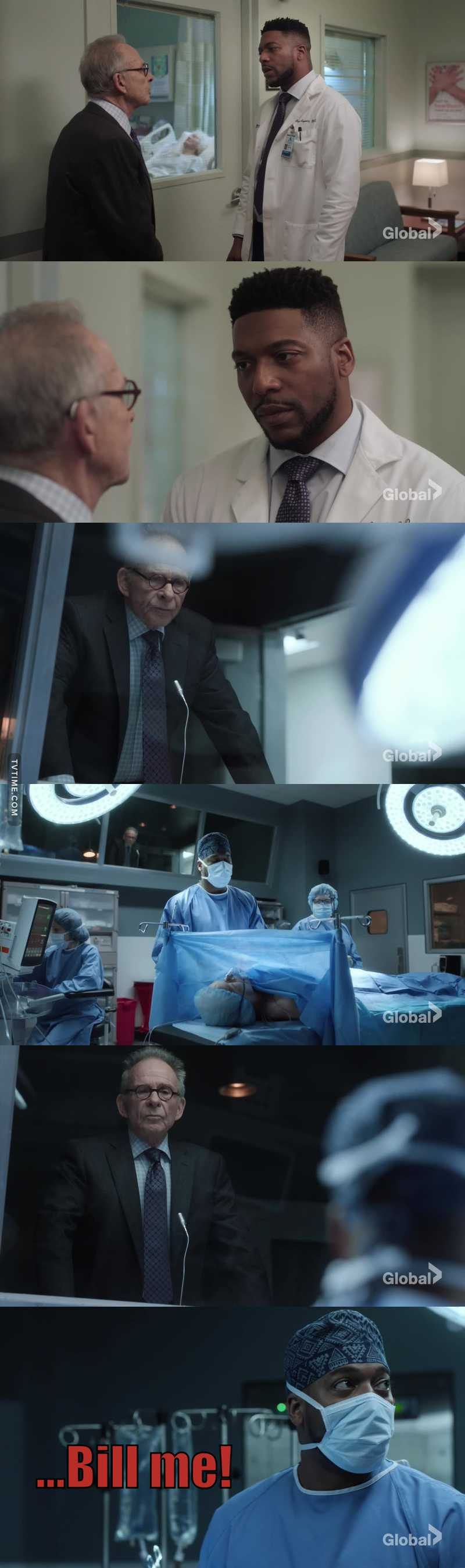 The fact that Reynolds is willing to pay his patient's bill tells me that Max has effected this hospital tremendously! What a legacy!