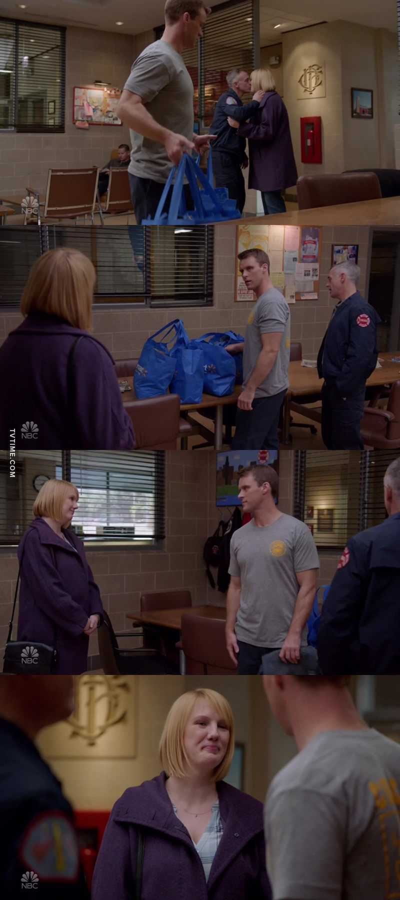 Cindy Hermann is the one of the best members of this firehouse.