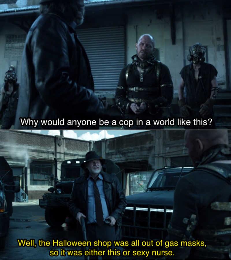 Harvey has the best lines 🤣🤣🤣
