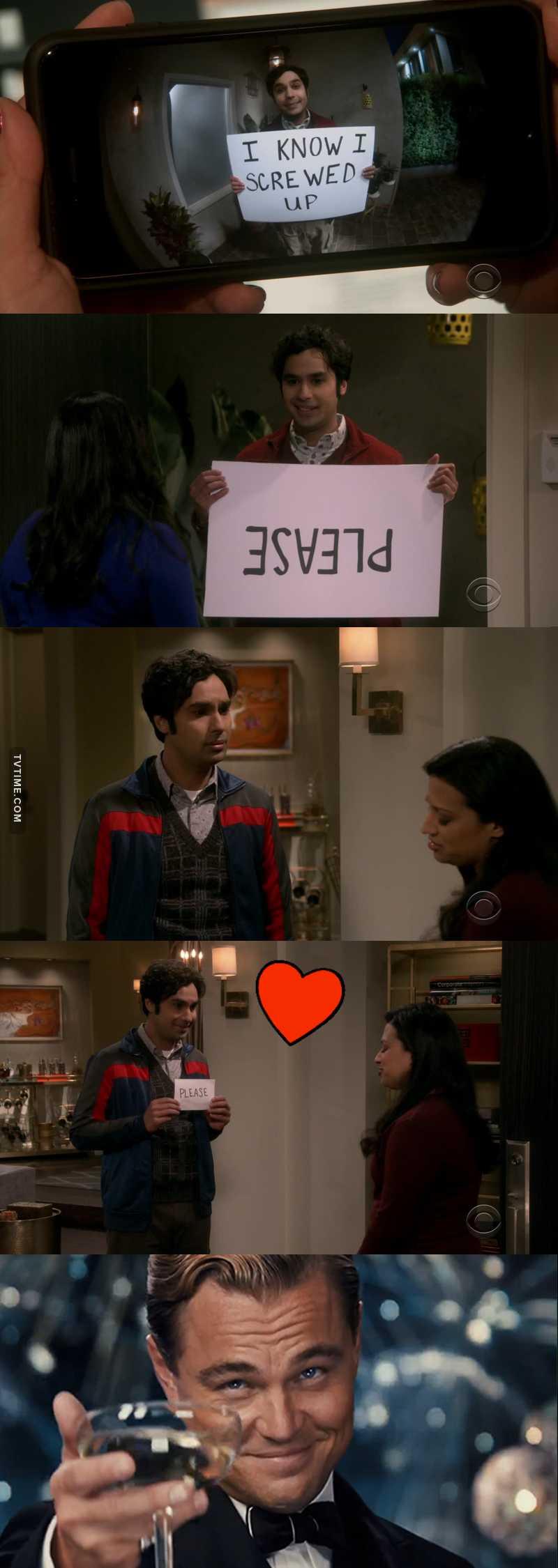 Raj was the best.
