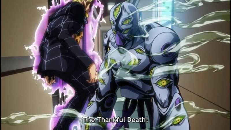 The Thakful Death que stand macabro