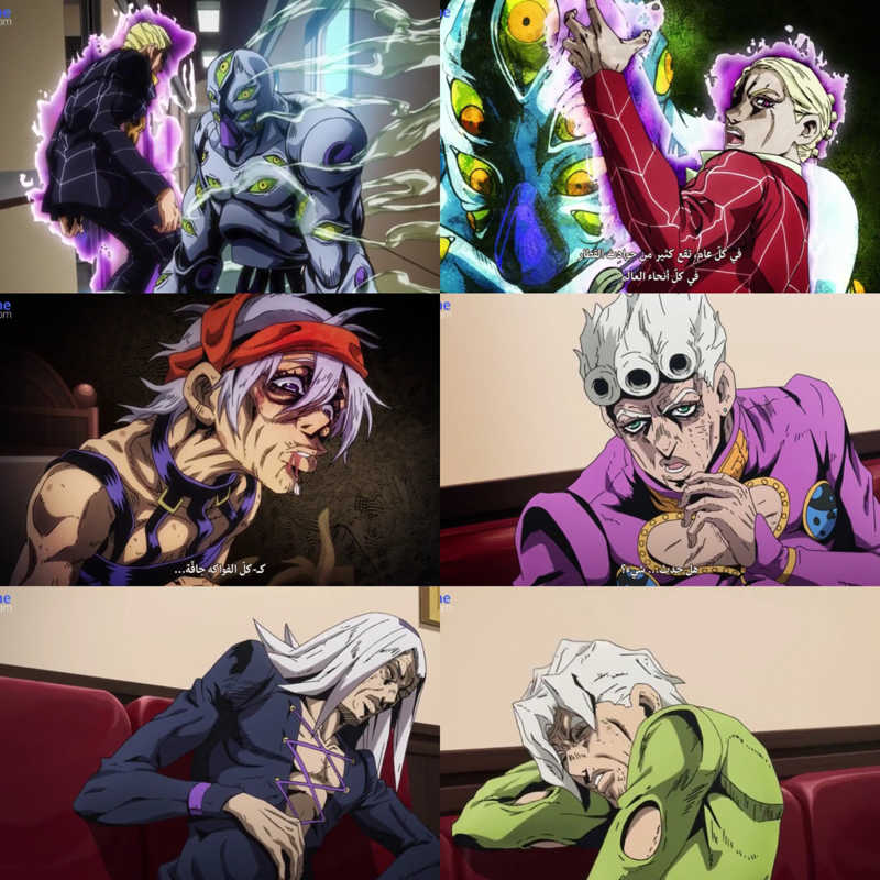 This what a love about Jojo the stand powers are unpredictable 😍