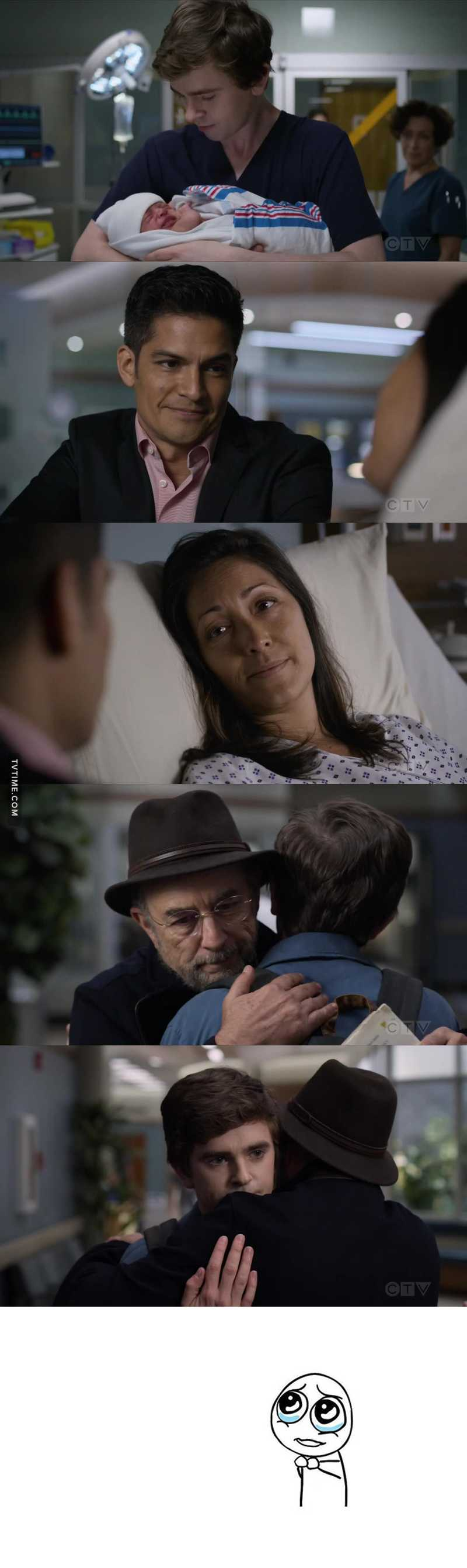 The most memorable, adorable, and the best scene in this episode so far. 😍🥰😊 Our boy, Shaun, really makes us proud. He deserves to win an Emmy for sure. ☺️ Proud of him.