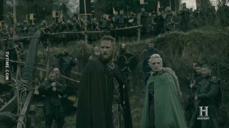 Ubbe and Torvi are the new powerhouse couple in Vikings. I like how they love, work and fight together. They are equal, guiding and giving strength to each other.