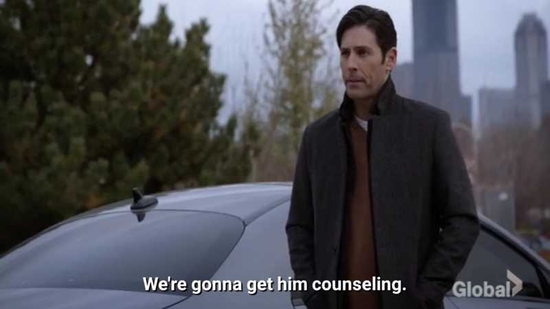 You're the one who needs counseling!