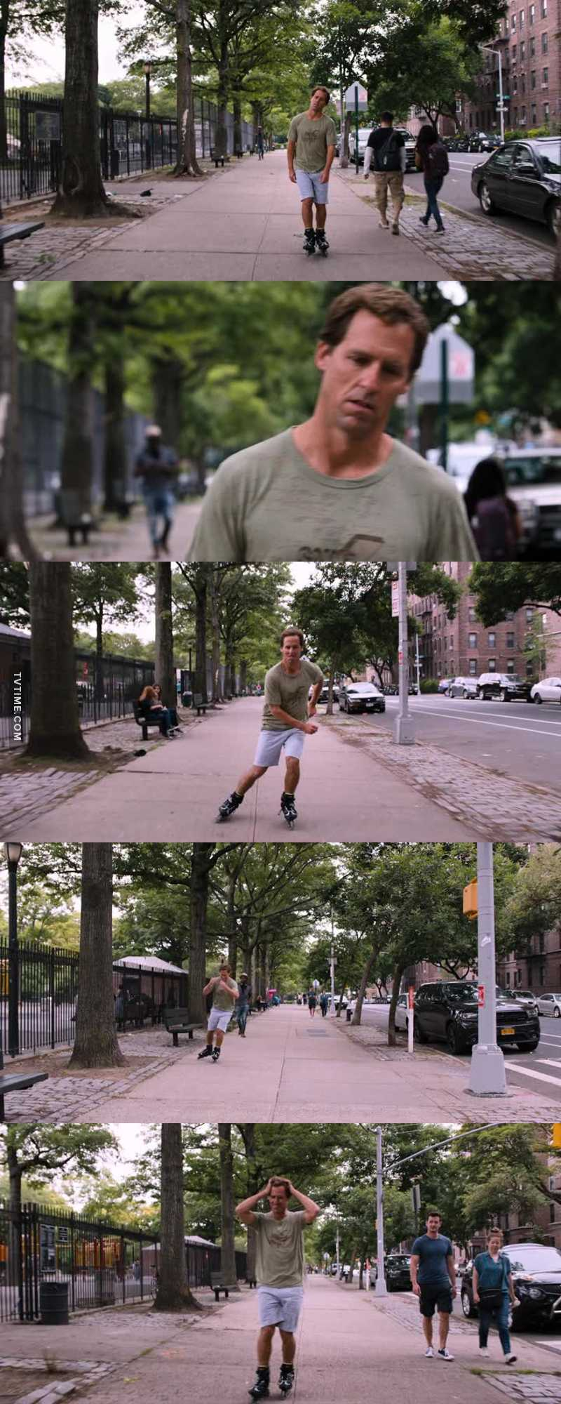That rollerblading scene was everything..!!! 😂😂