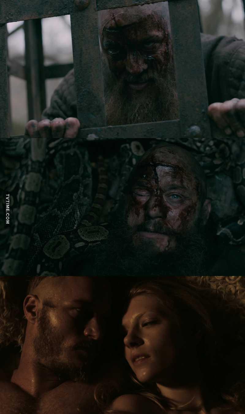 Ragnar's flashbacks broke my heart 💔