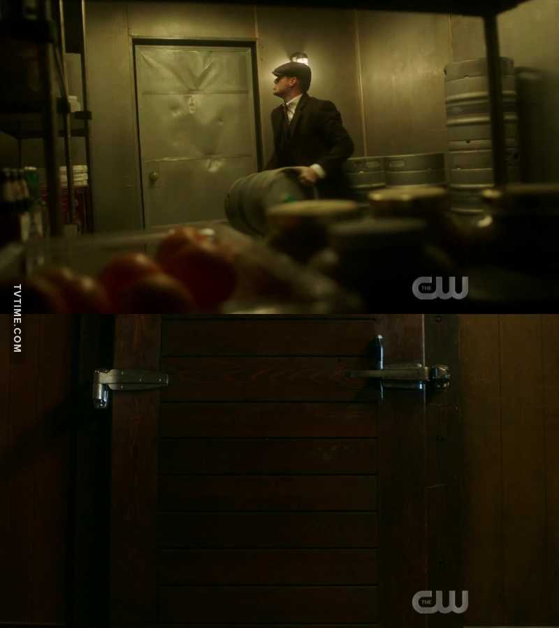 Wondering how long Dean will be able to keep him in there.