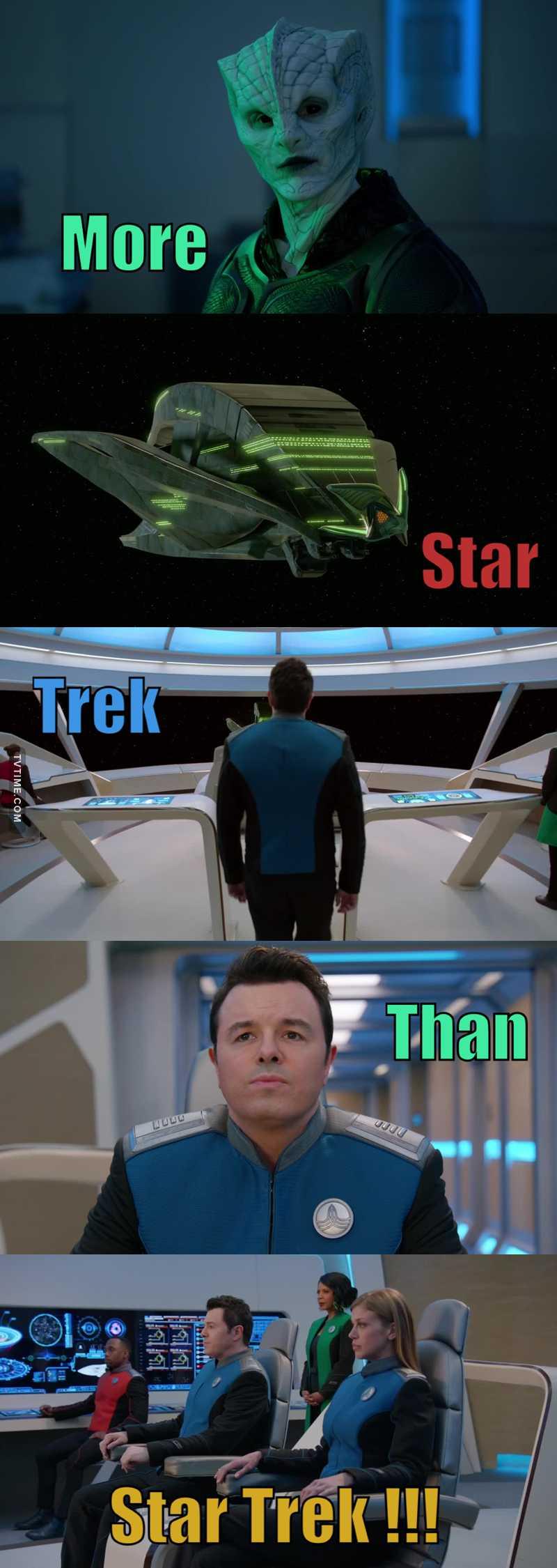 More Star Trek than bloody Star Trek Discovery