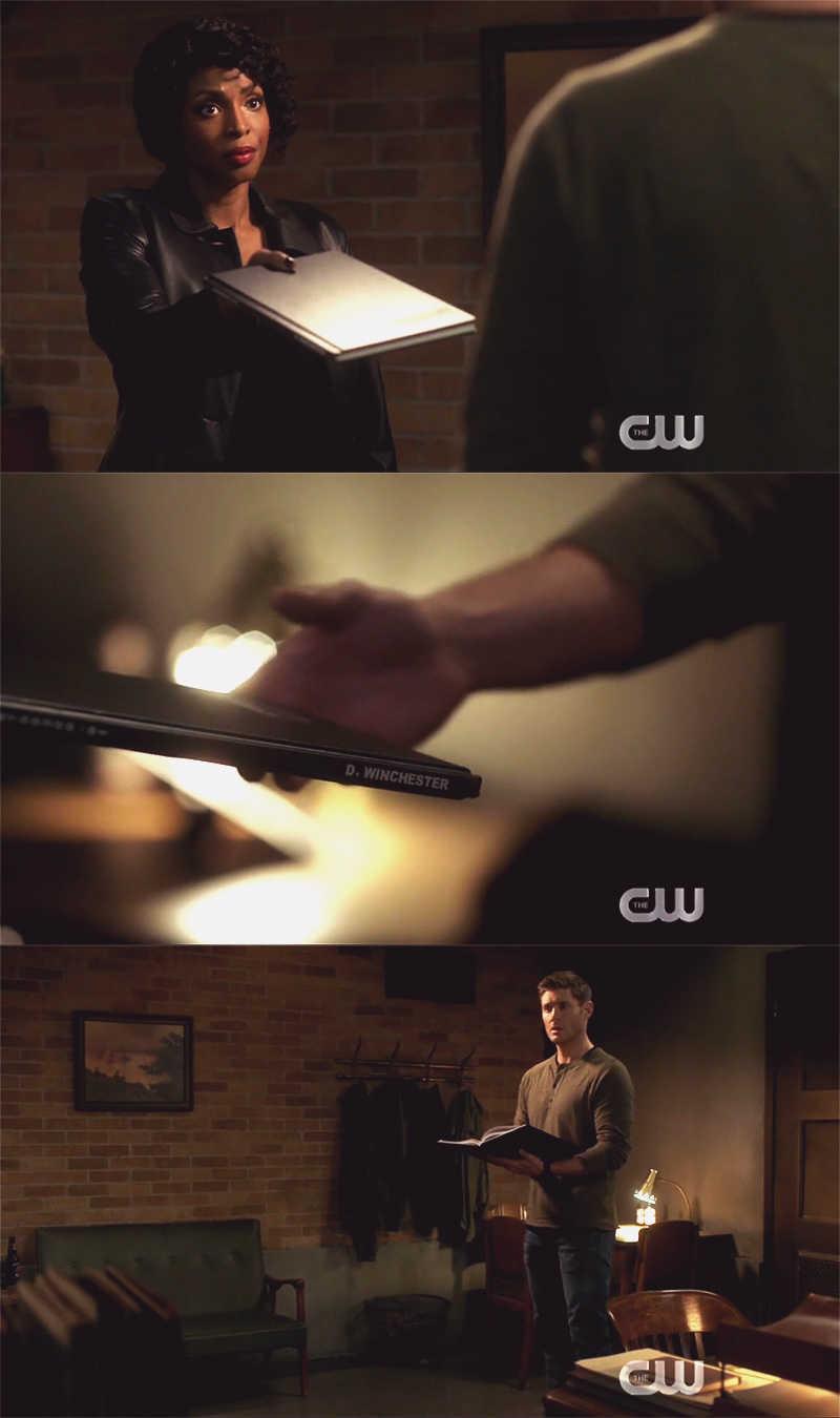 Guys, he's got the season finale script!! 😂😂