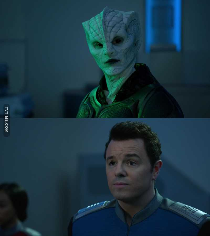 I really liked this episode, the heartwarming relationship between these two characters is just awesome. Billy Joel makes it even more special. This show is becoming one of my favorites, I look forward every week to my time with the Orville!