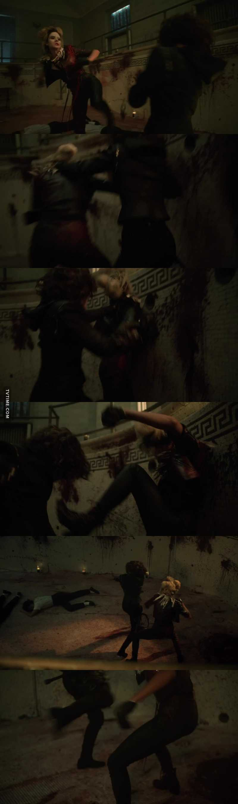 That was an intense fight scene.