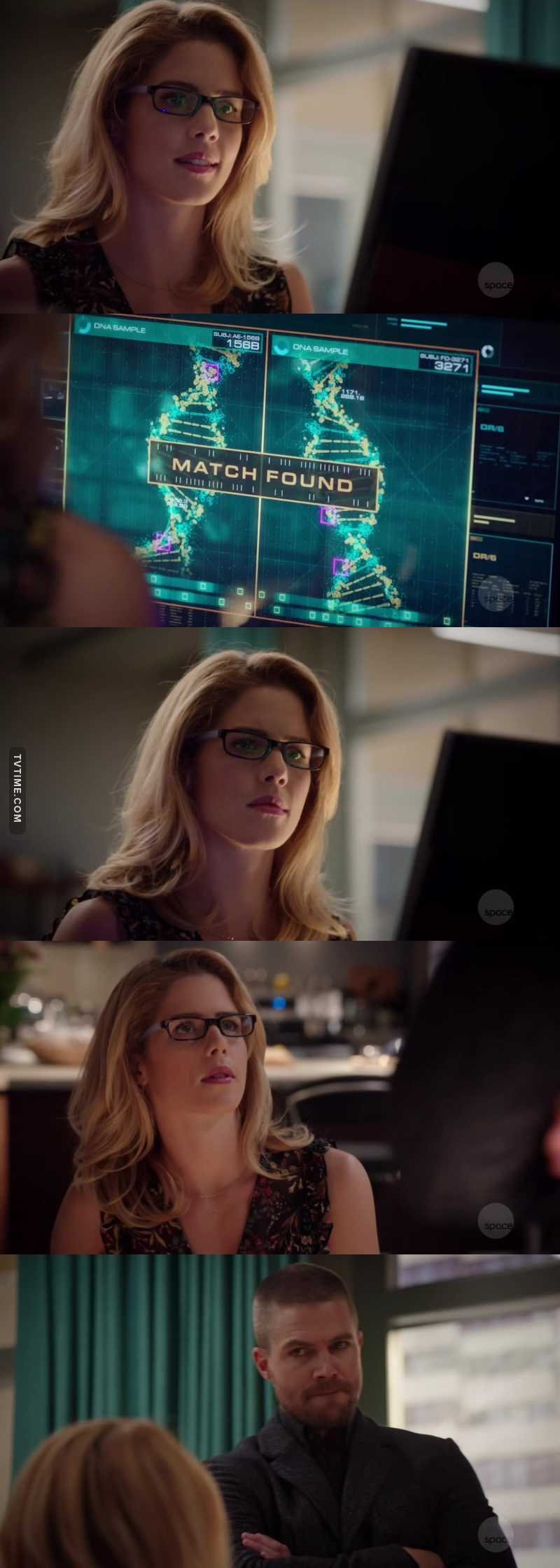 I will never be over the fact that Felicity Smoak knows Oliver Queen's DNA sequence