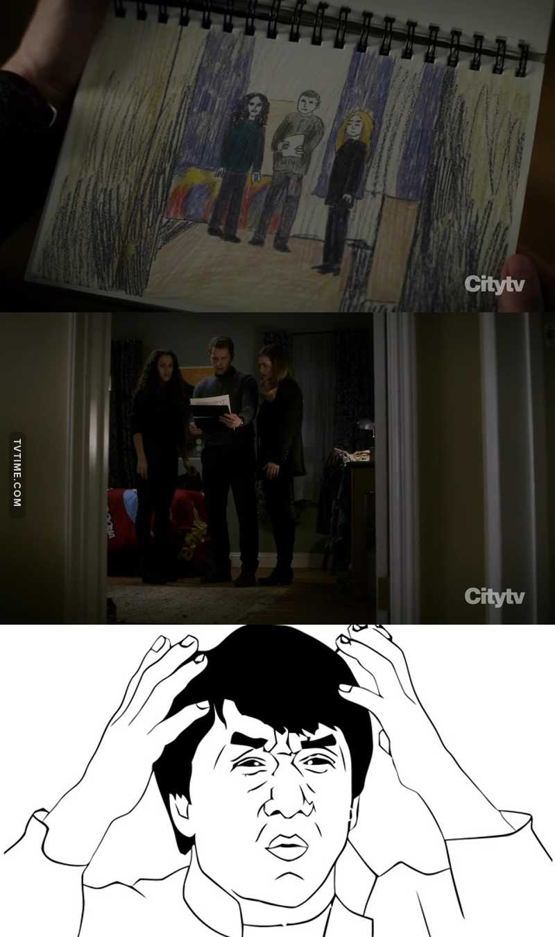 The best scene in this episode. Too many twists.