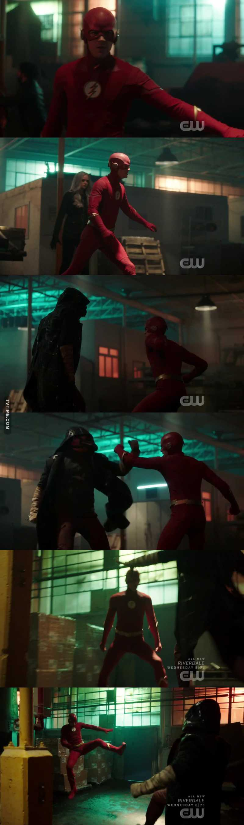 Barry was Oliver Queen for like a couple of days and now he thinks he can fight Cicada without his speed😂