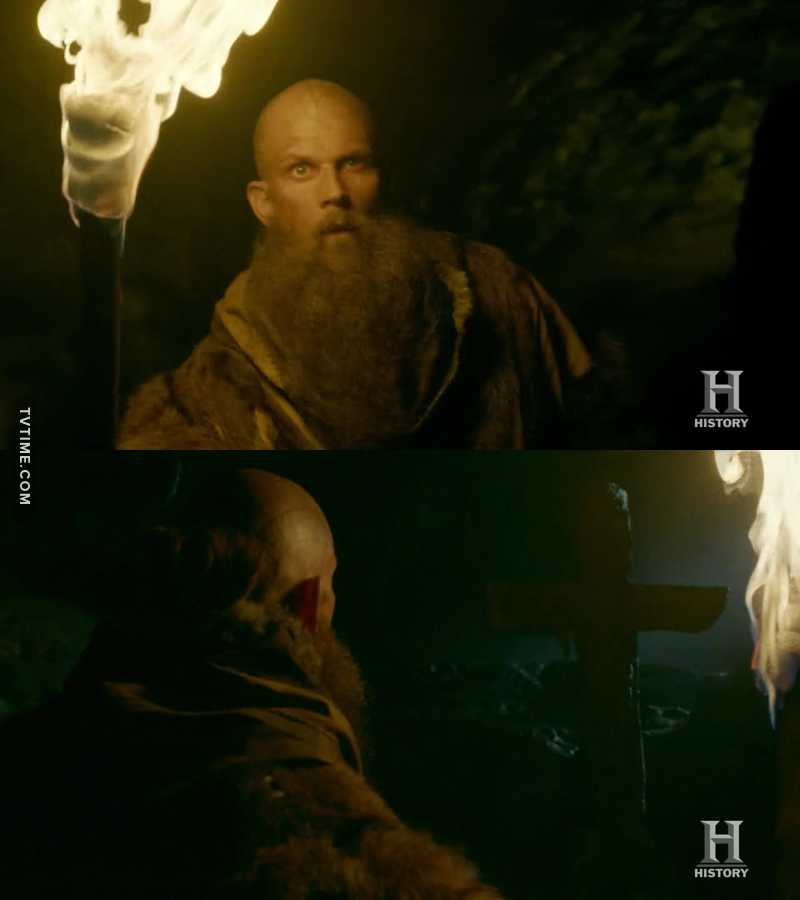 Floki found a God but not the one he was looking for! Karma is a Bitch!