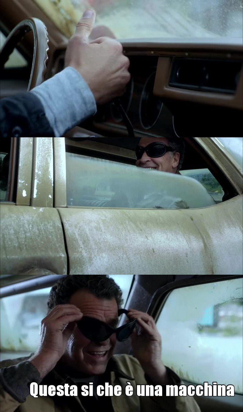 """""""Questa si che è una macchina"""" cit. Walter"""