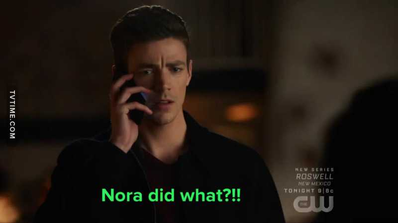 😆 I'm sure this wasn't the first time Barry had to ask this and I'm sure it won't be the last..   😖🙄🥴 Nora 🥴🙄😖
