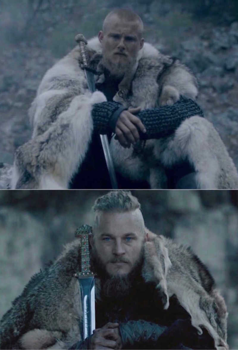 """""""you know who I am; I am Bjorn Ironside, son of Ragnar."""""""