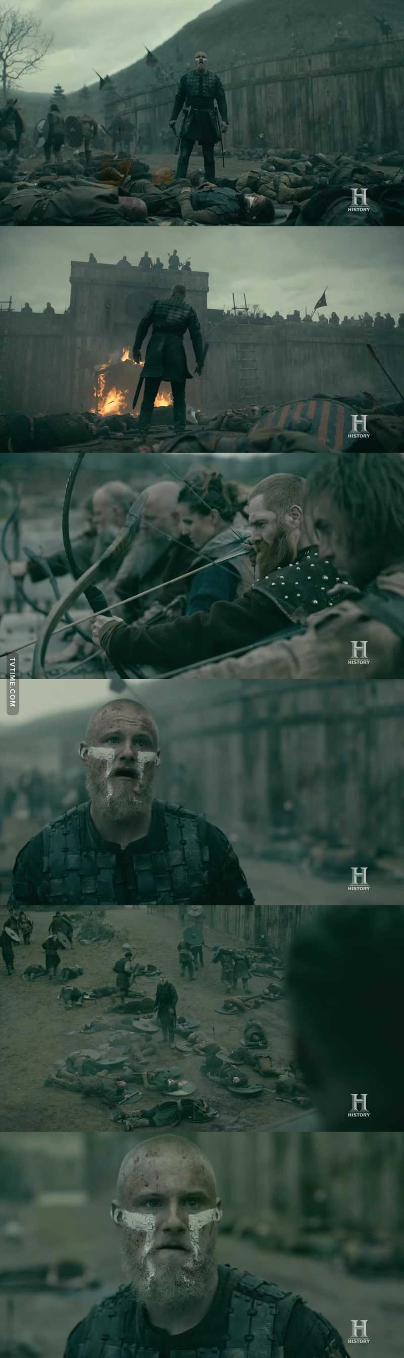 """""""You all know, i'am bjorn ironside, son of ragnar  Am not your enemy, you are my neighbors and my friends""""   Great scene 😢💔"""