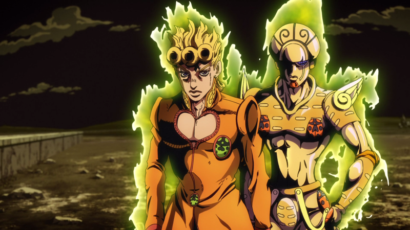 We love an overwhelmingly strong duo. I love Jojo series' way of turning everything into incredible powers.