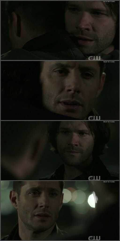 Jared (Sam), you were great in this episode, so you impressed us in the last scene. That last scene was so beautiful and emotional. It feels good to have these feelings...