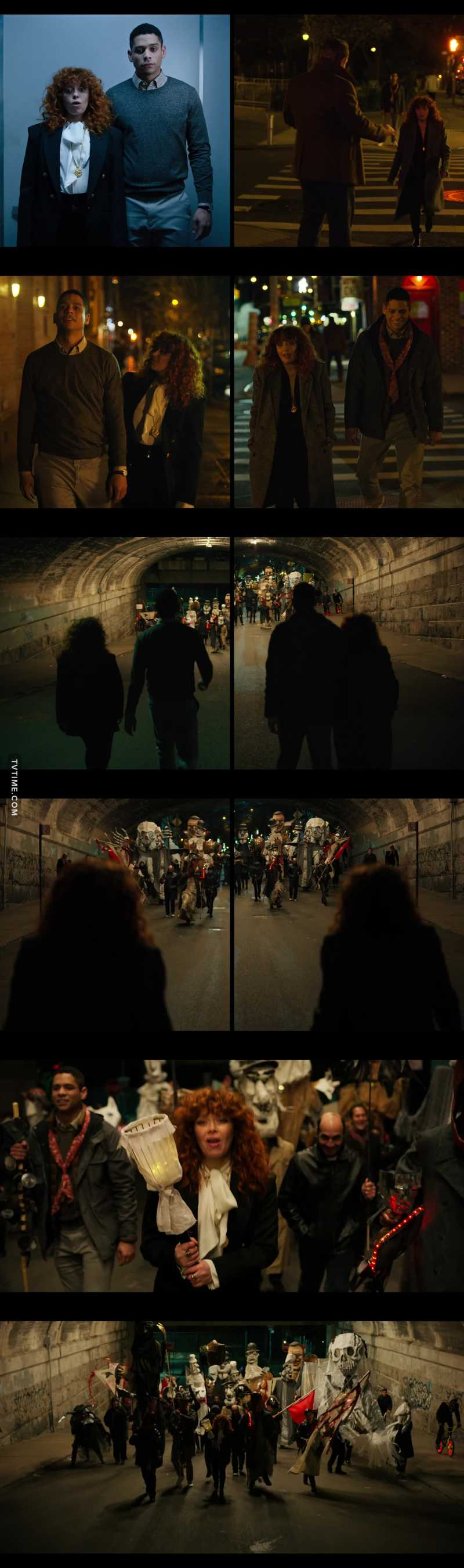 I LOVED these scenes and how their two timelines merged into one. Nicely done!