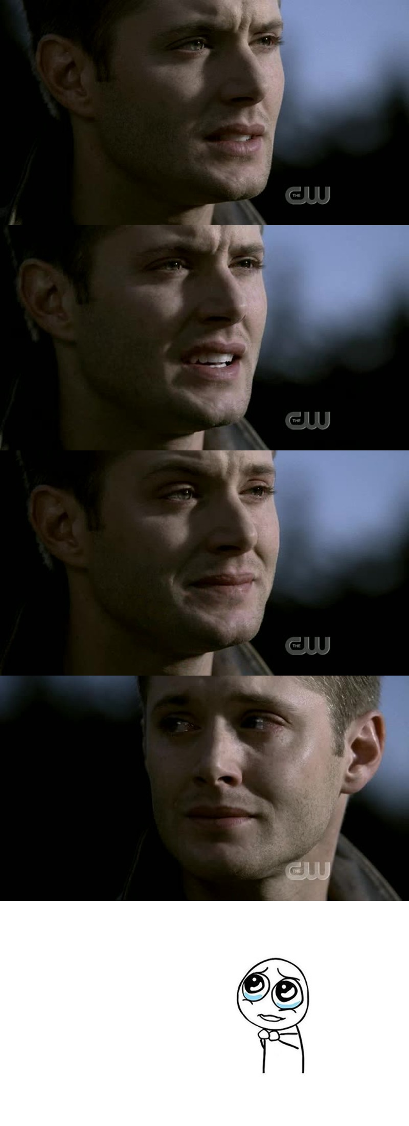 Jensen is an incredible actor, the way he manages to share those emotions is amazing. Plus he's so hot 🙌