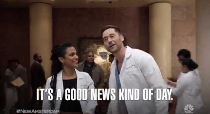 Well, NBC has answered our eternal question of how can you help us?!  New Amsterdam has been RENEWED!!  Congrats #DAMFAM!