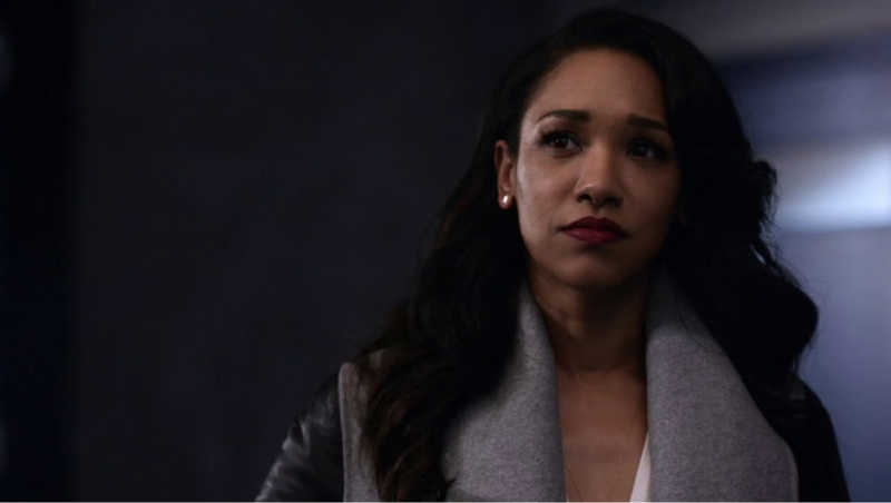 I do have to say that Iris WestAllen was awesome in this episode: