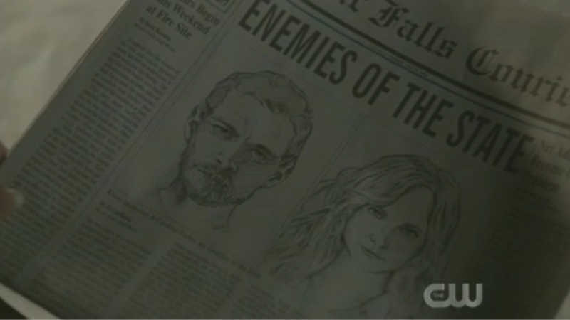 KLAUS AND CAROLINE - ENEMIES OF THE STATE