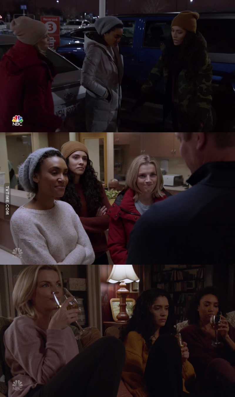 I said it last episode, I'll say it again: The girls, they are so precious, I love them!  Our Badass Honorary Mustangs!!