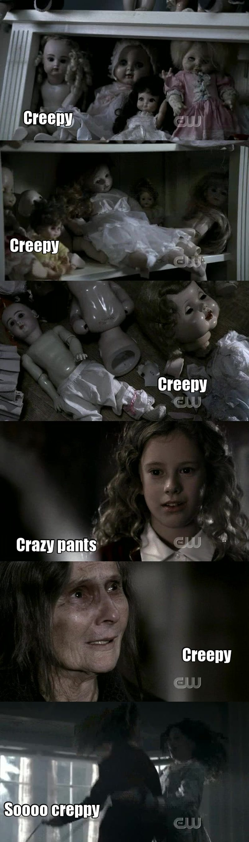 Ok this whole episode was creepy AF