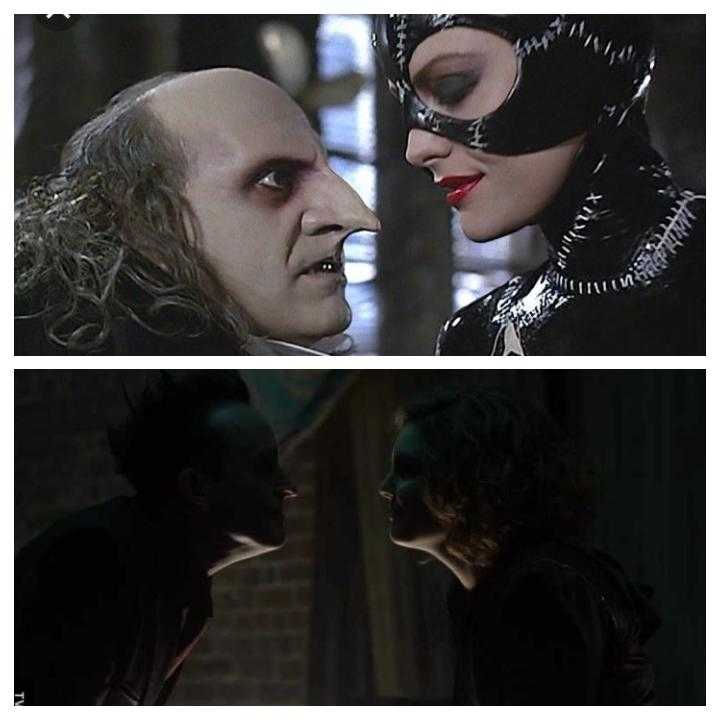 Penguin and Catwoman partnership! 👏👏