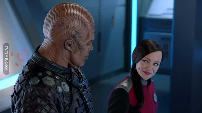 So I was determined not to like Talla because I liked Alara so much, but darn it, this was interesting. Well played Orville.