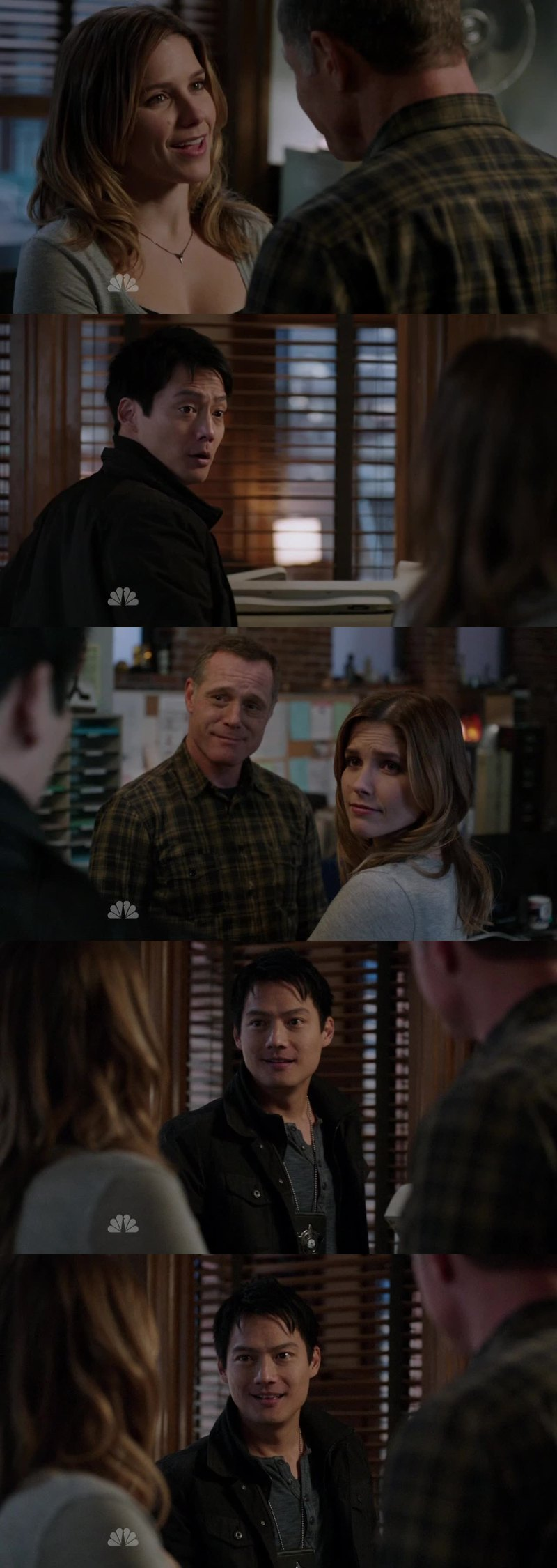 This scene was very awkward! Ahahah