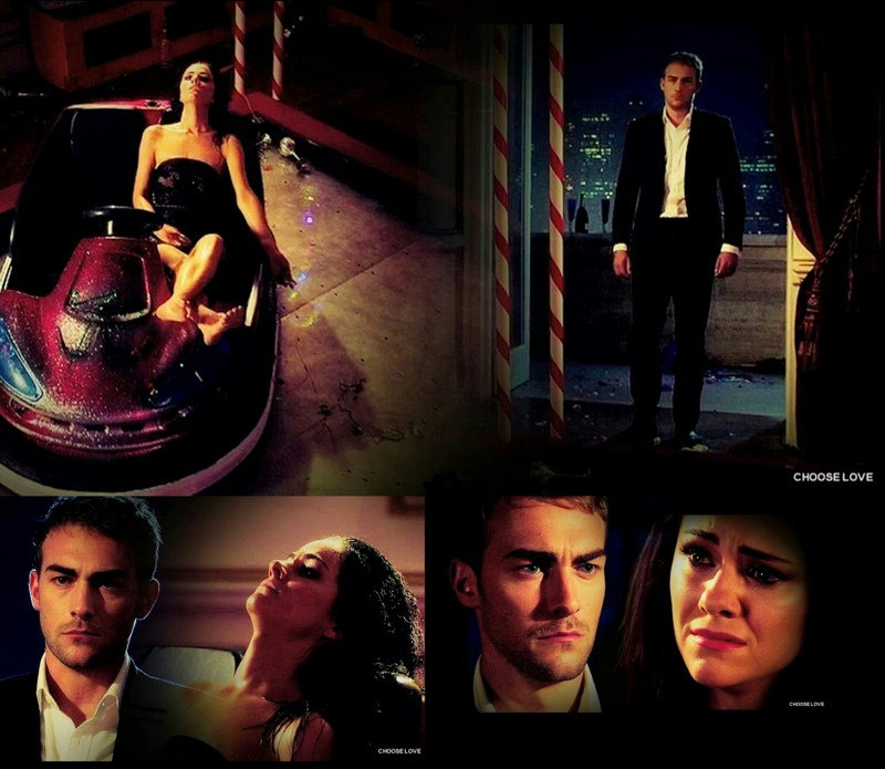 Jaspenor heartbreaking moments ...Go Jasper, tell her the truth, do it! Please...