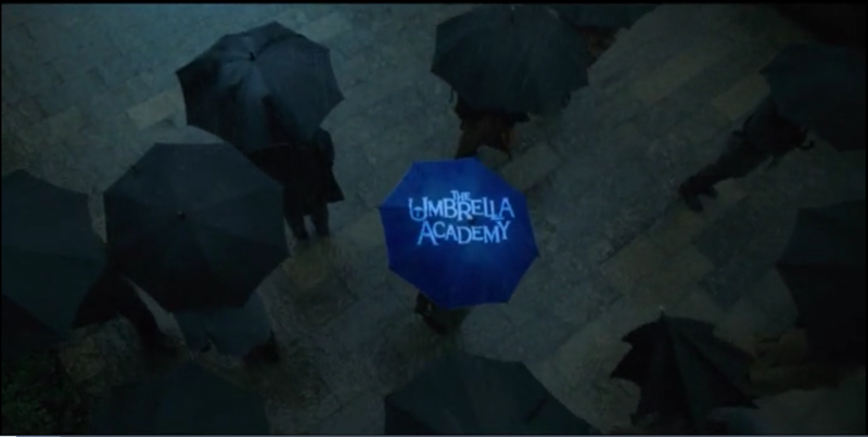 I just love how easy it is to introduce the credits of Umbrella Academy. It's always right on point! 👌