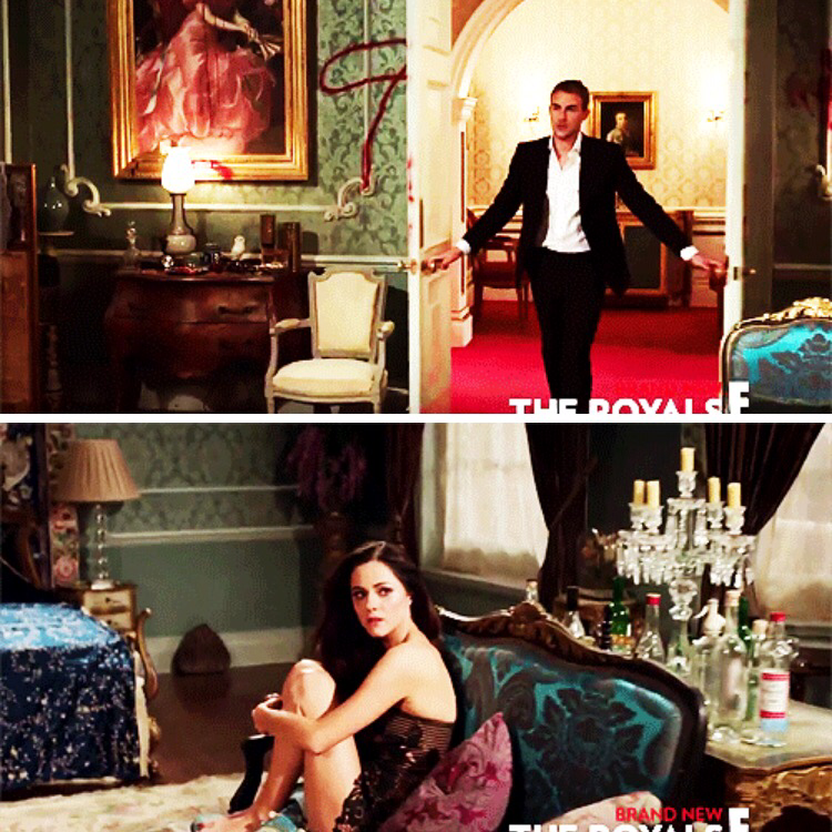 NEXT WEEK ON THE ROYALS OMG